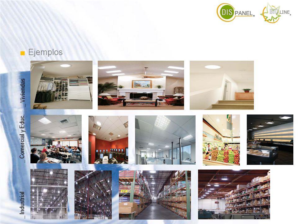 . Ejemplos _ Viviendas _ Comercial y Educ. _ Industrial
