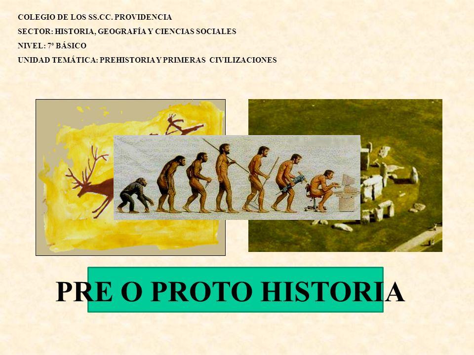PRE O PROTO HISTORIA COLEGIO DE LOS SS.CC. PROVIDENCIA