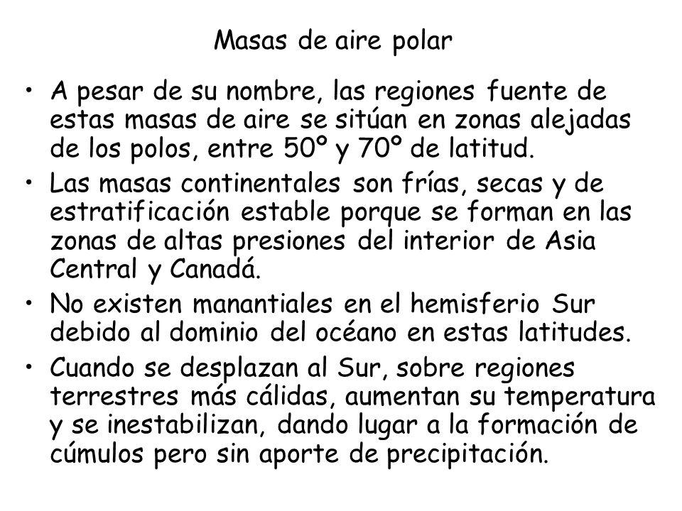 Masas de aire polar