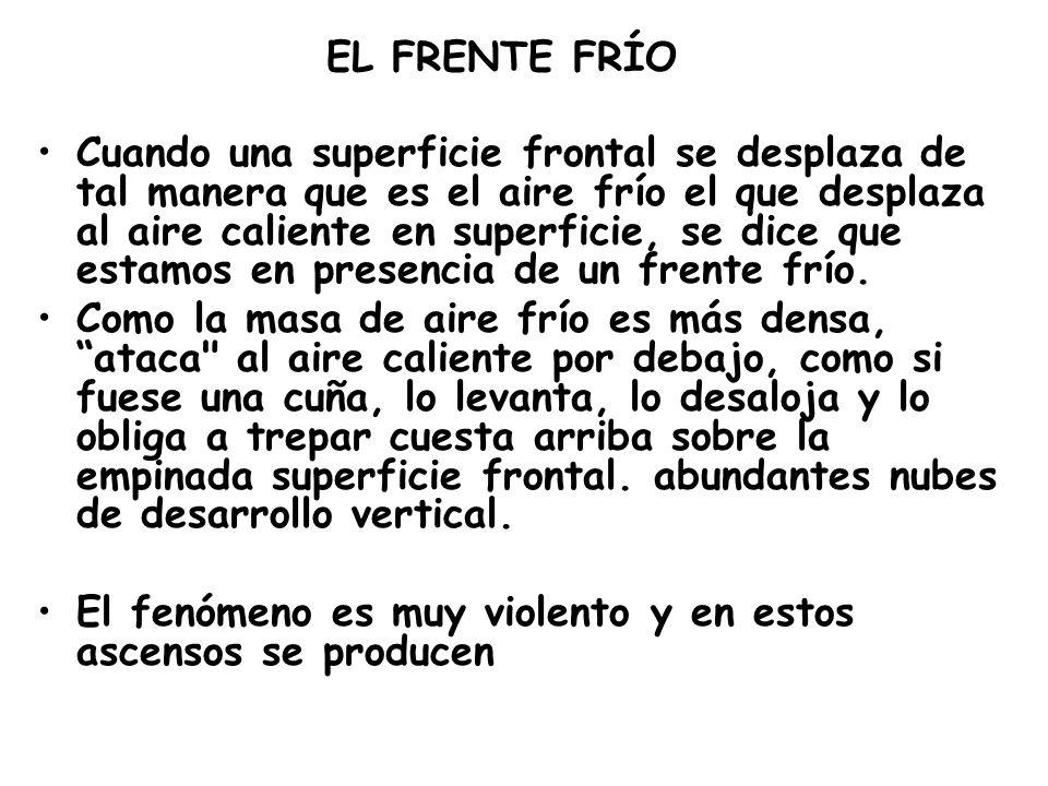 EL FRENTE FRÍO