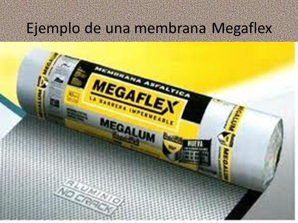 Ejemplo de una membrana Megaflex