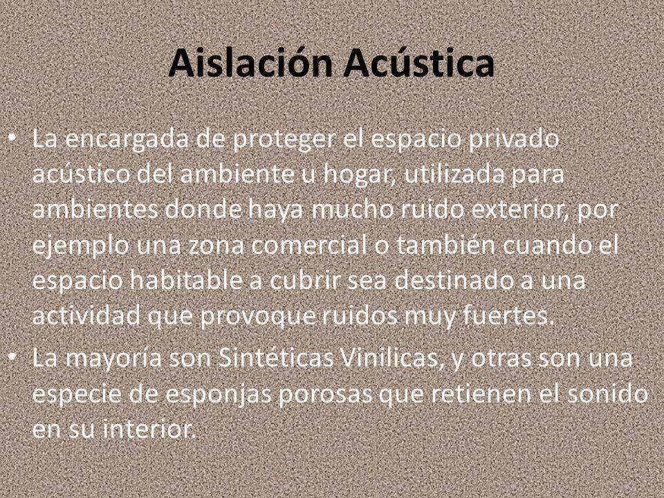 Aislación Acústica