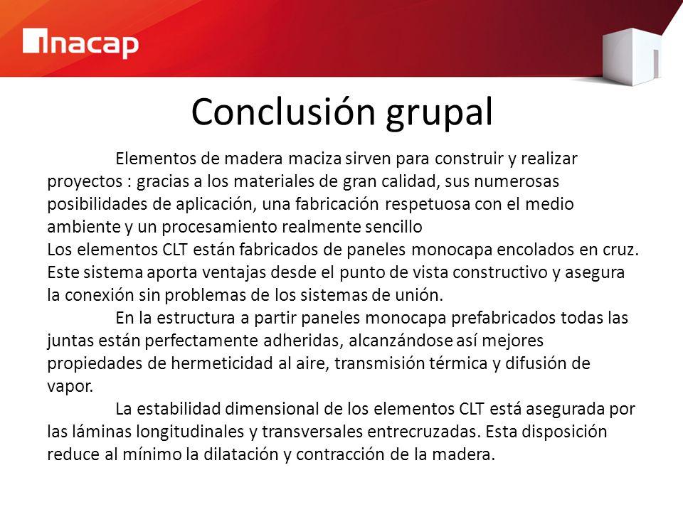 Conclusión grupal