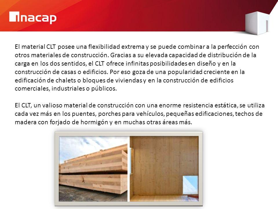 El material CLT posee una flexibilidad extrema y se puede combinar a la perfección con otros materiales de construcción.