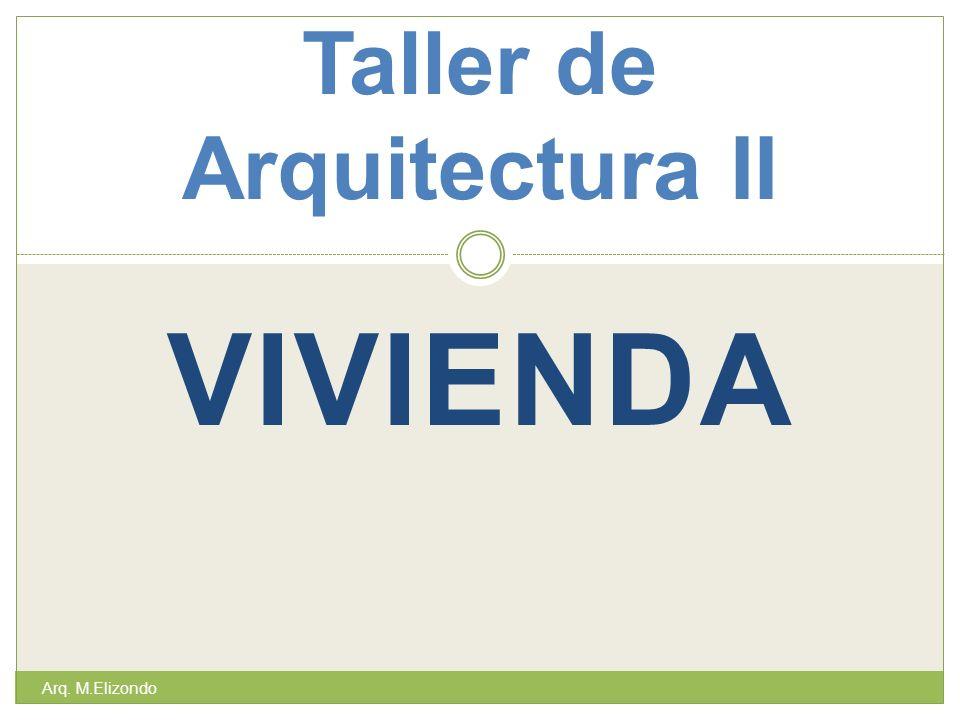 Taller de Arquitectura II