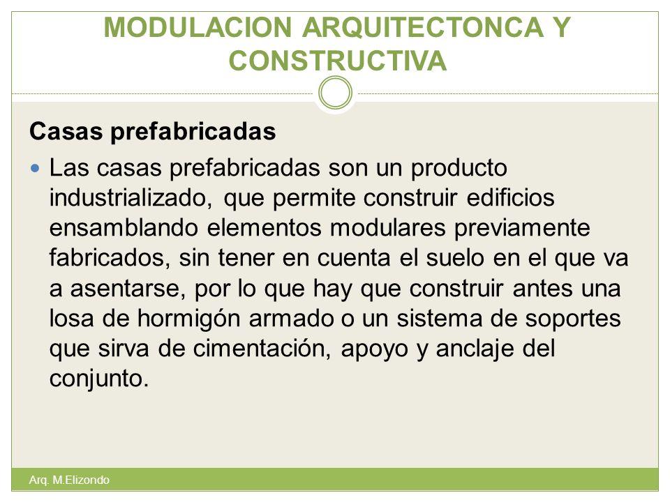 MODULACION ARQUITECTONCA Y CONSTRUCTIVA