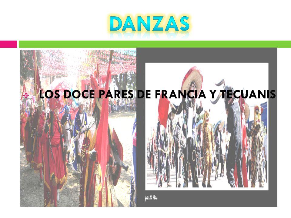 DANZAS LOS DOCE PARES DE FRANCIA Y TECUANIS