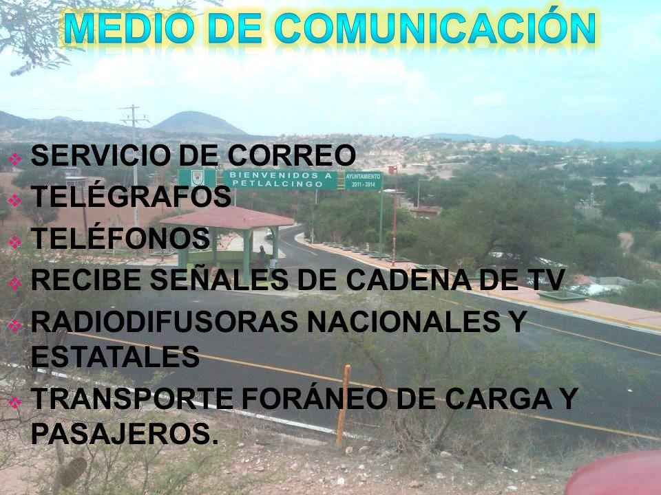MEDIO DE COMUNICACIÓN SERVICIO DE CORREO TELÉGRAFOS TELÉFONOS