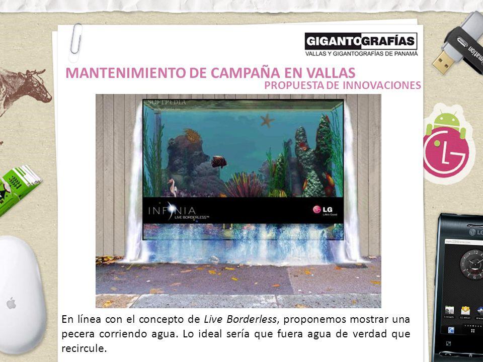 MANTENIMIENTO DE CAMPAÑA EN VALLAS