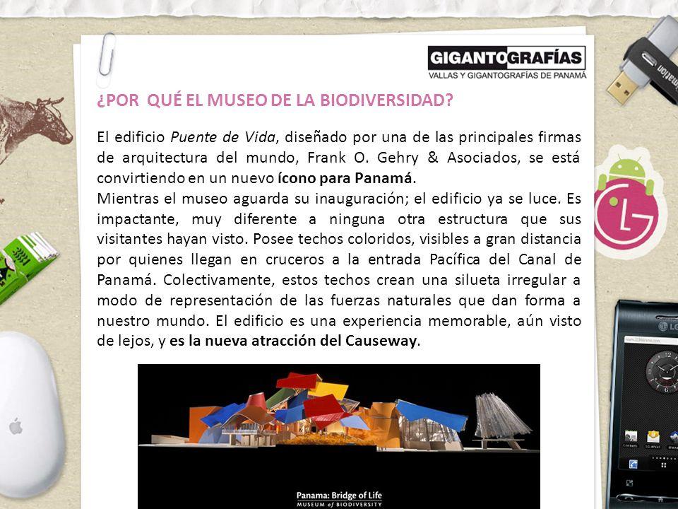 ¿POR QUÉ EL MUSEO DE LA BIODIVERSIDAD