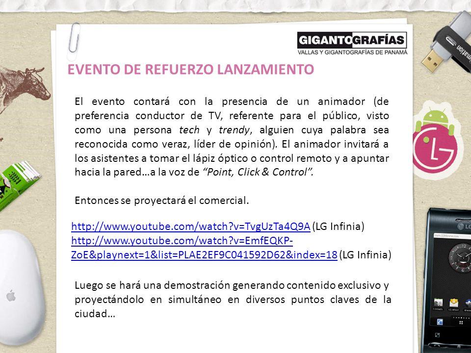 EVENTO DE REFUERZO LANZAMIENTO