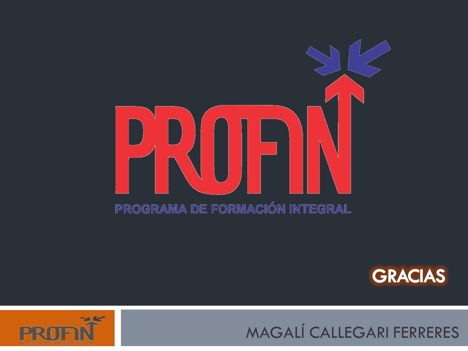 GRACIAS MAGALÍ CALLEGARI FERRERES
