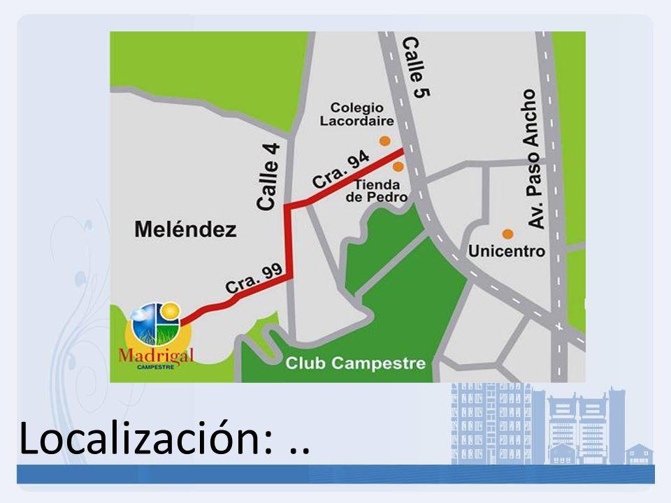 Localización: ..