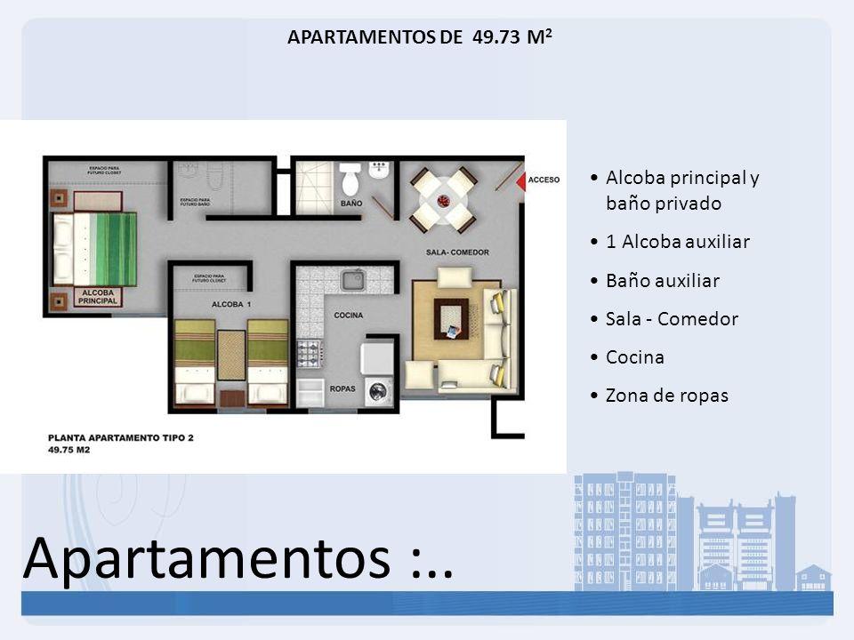 Apartamentos :.. APARTAMENTOS DE 49.73 M2