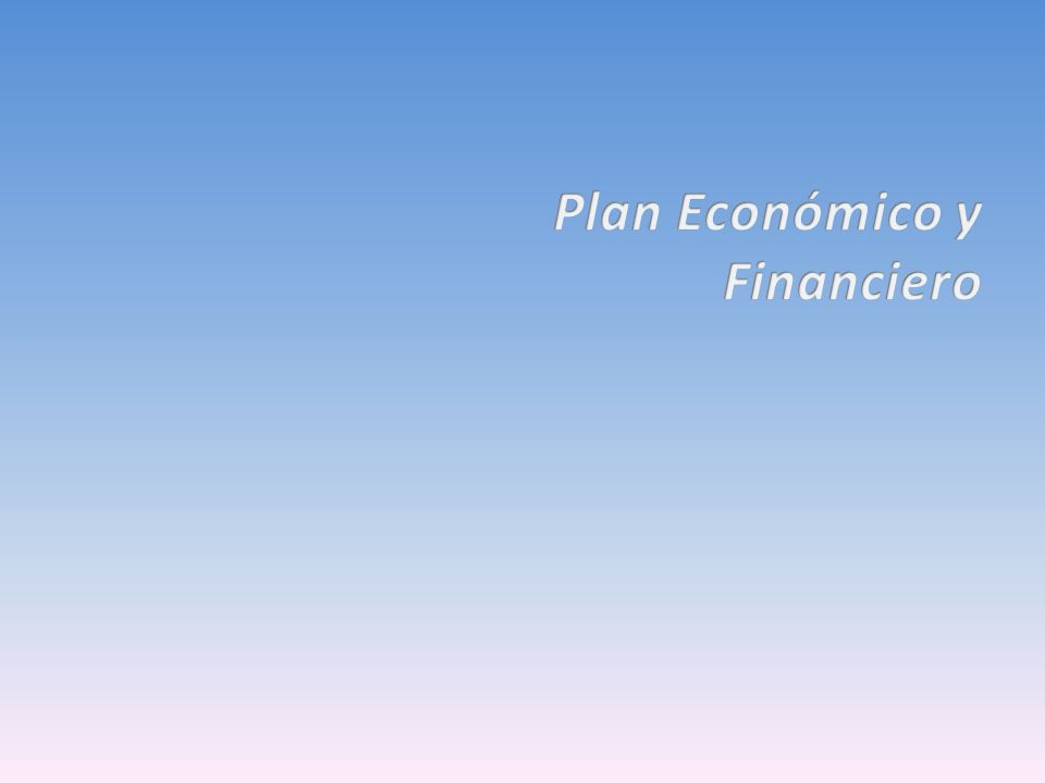 Plan Económico y Financiero