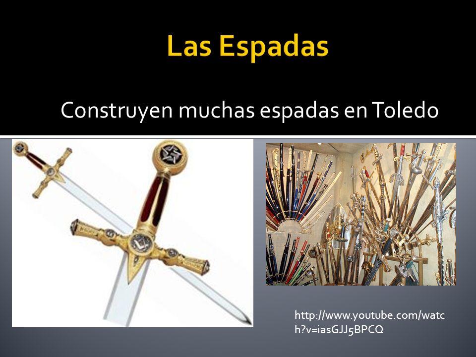Construyen muchas espadas en Toledo