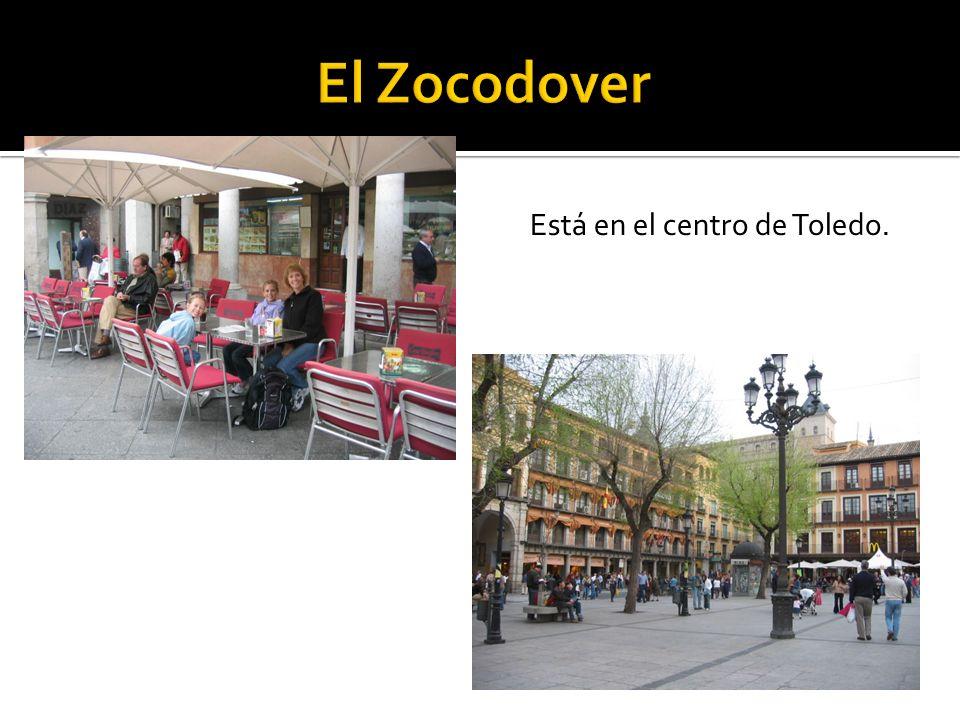 El Zocodover Está en el centro de Toledo.