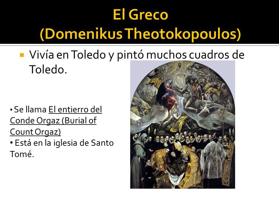 El Greco (Domenikus Theotokopoulos)