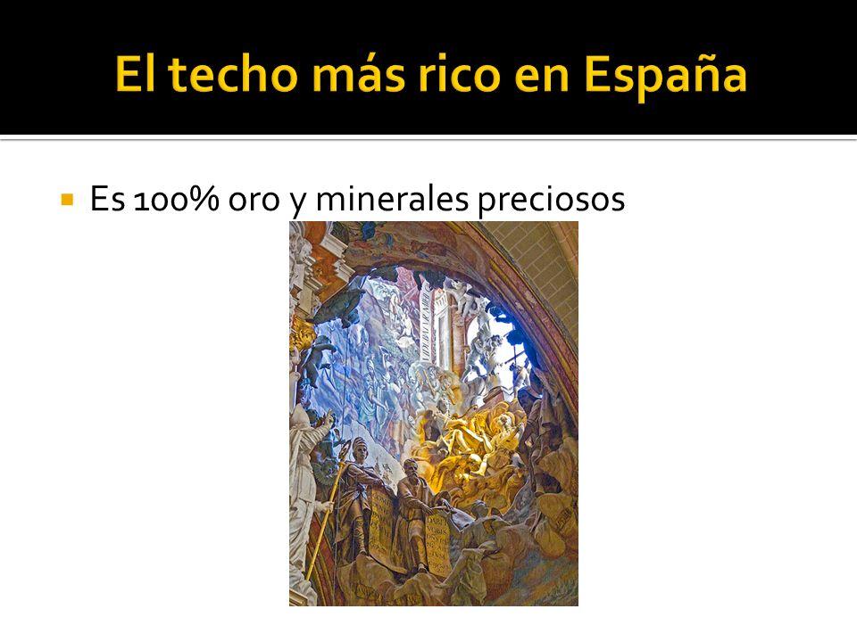 El techo más rico en España
