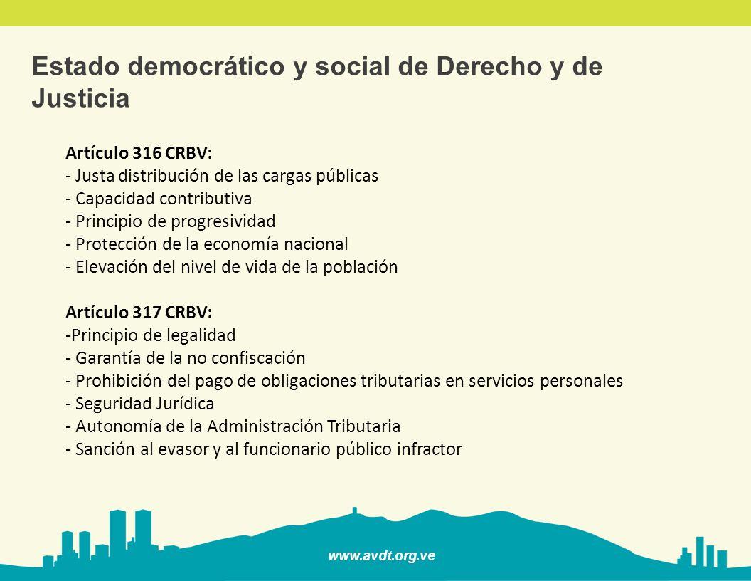 Estado democrático y social de Derecho y de Justicia