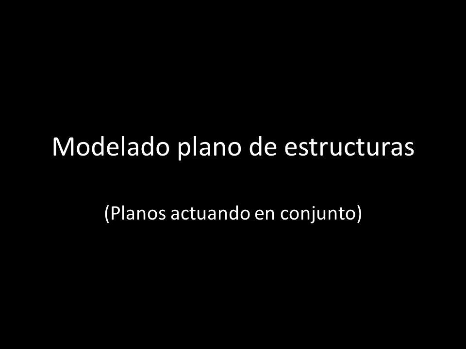 Modelado Plano De Estructuras Ppt Descargar