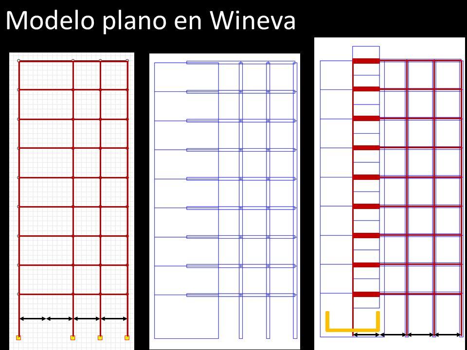 Modelo plano en Wineva