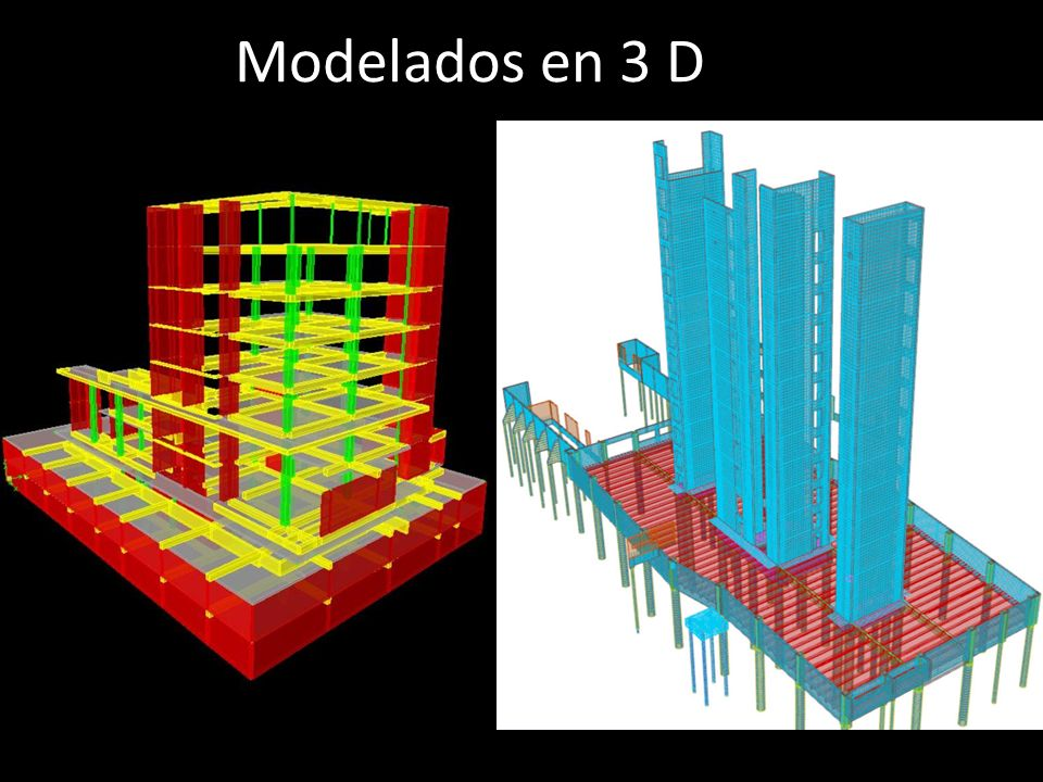 Modelados en 3 D
