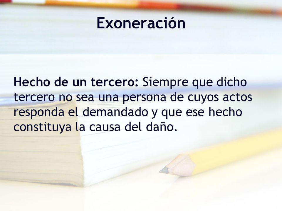 Exoneración
