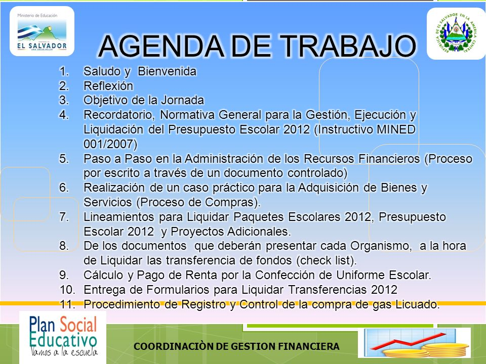 COORDINACIÒN DE GESTION FINANCIERA