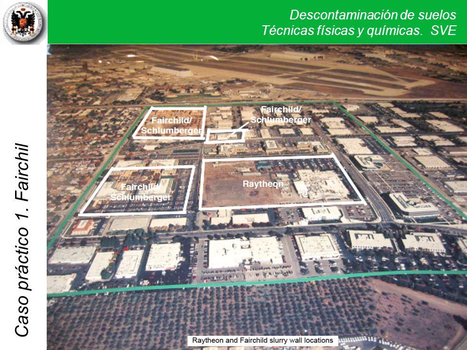 Como primera medida de protección se obligó a cada una de las empresas implicadas a realizar un aislamiento de la zona mediante la construcción de una barrera de protección de las aguas subterráneas (línea blanca de la foto).