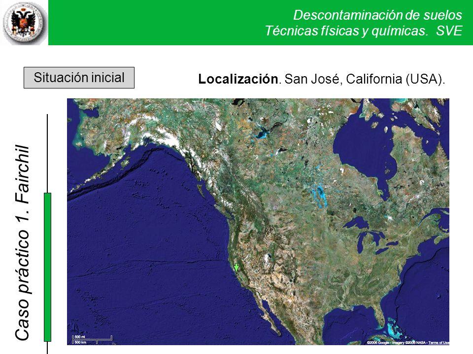 Localización. San José, California (USA).