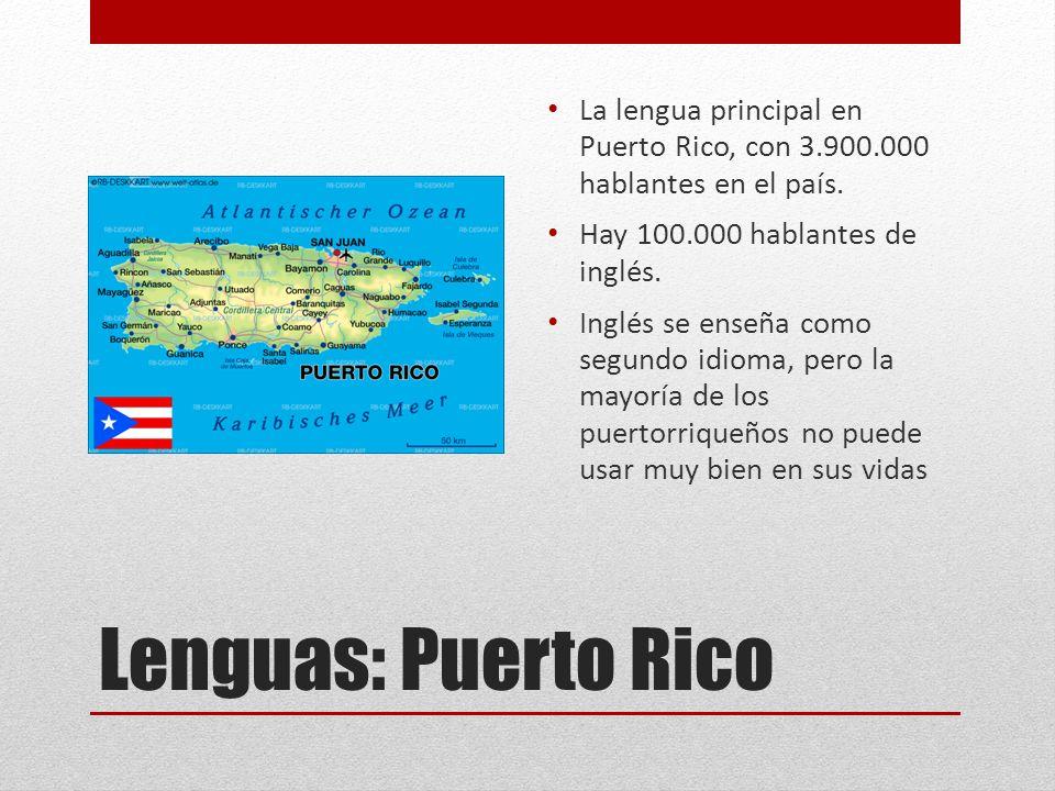 Lenguas cultura de america central y el caribe ppt descargar - Nacionalidad de puerto rico en ingles ...