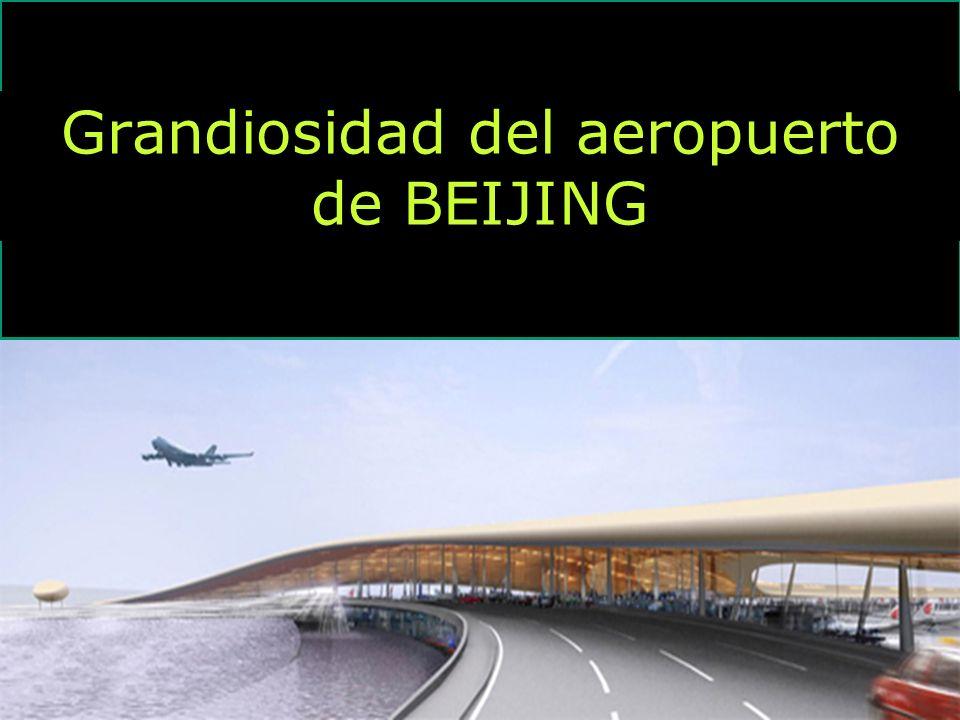 Grandiosidad del aeropuerto de BEIJING
