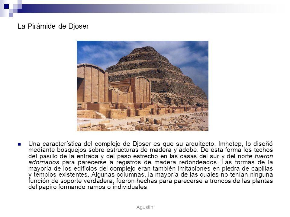 La Pirámide de Djoser