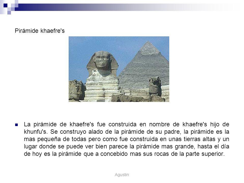 Pirámide khaefre s