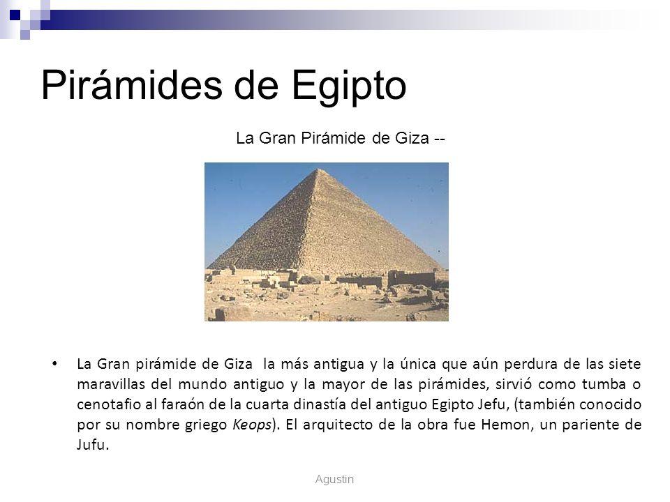 La Gran Pirámide de Giza --