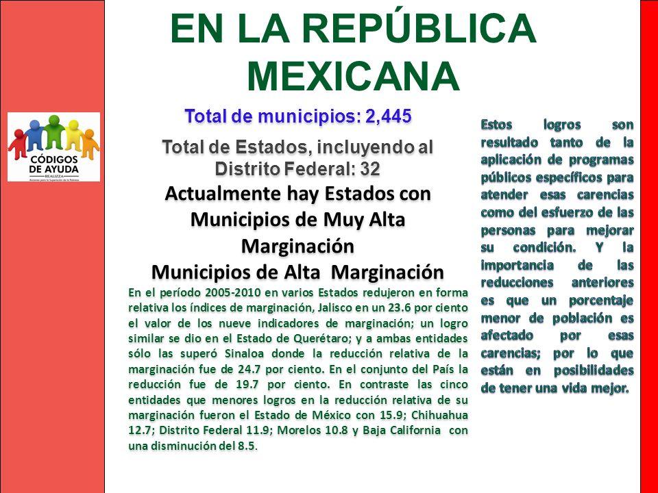 EN LA REPÚBLICA MEXICANA