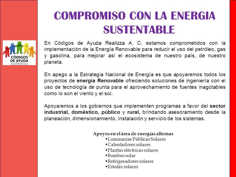 COMPROMISO CON LA ENERGIA SUSTENTABLE