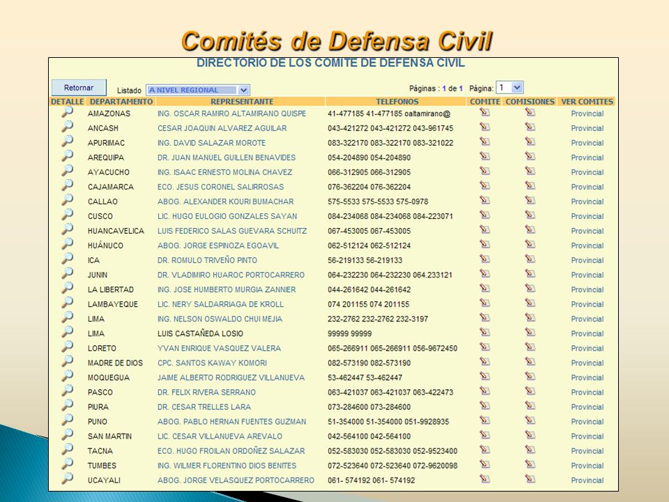 Comités de Defensa Civil