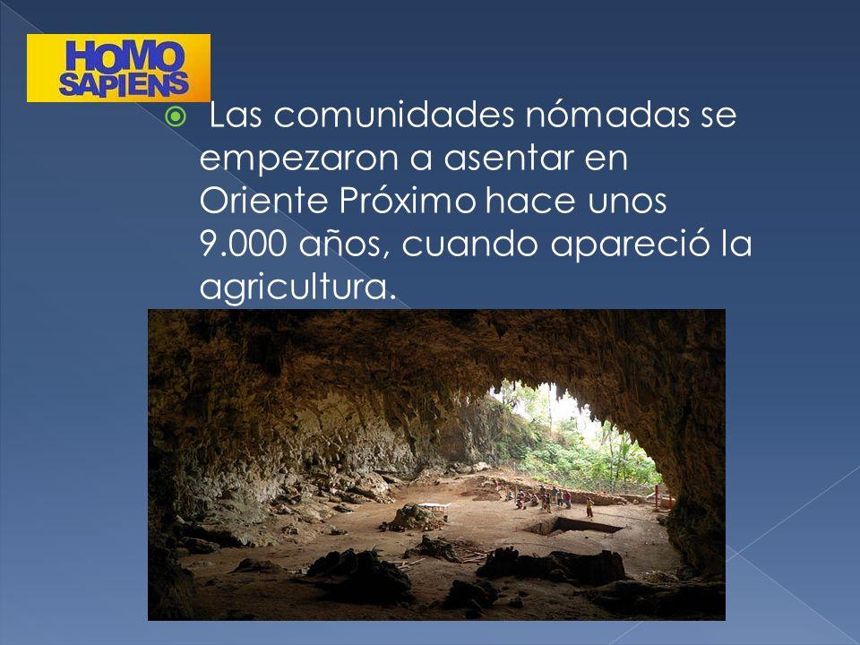 Las comunidades nómadas se empezaron a asentar en Oriente Próximo hace unos 9.000 años, cuando apareció la agricultura.