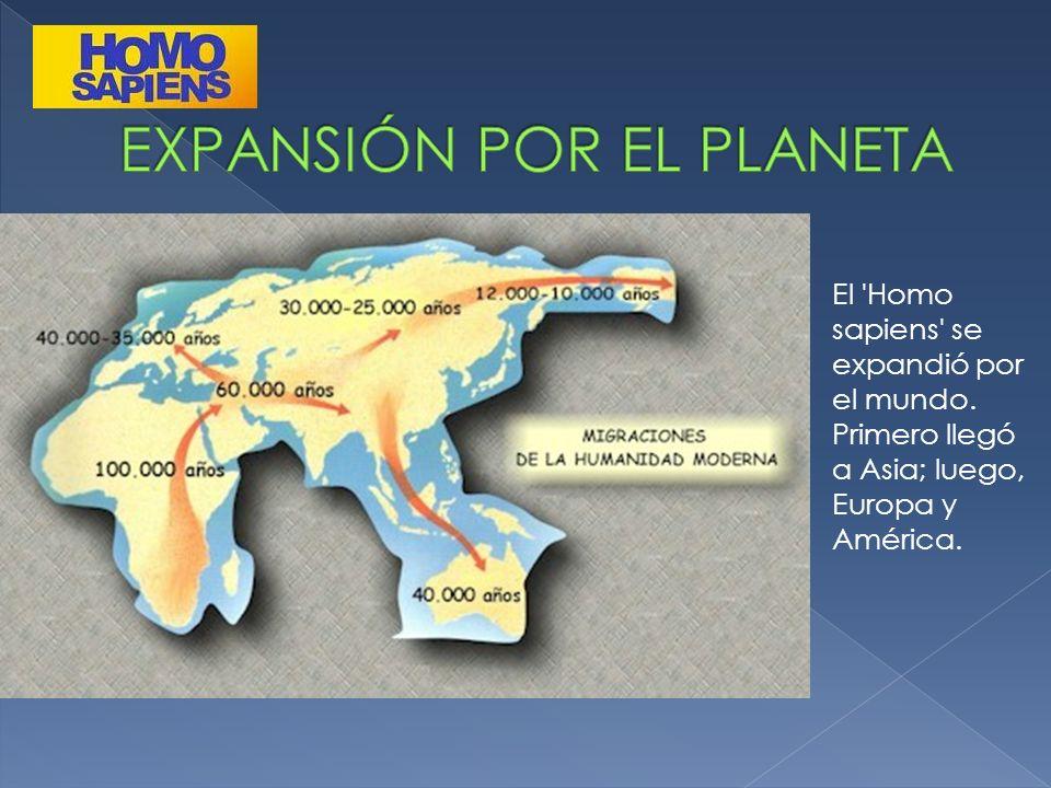 EXPANSIÓN POR EL PLANETA