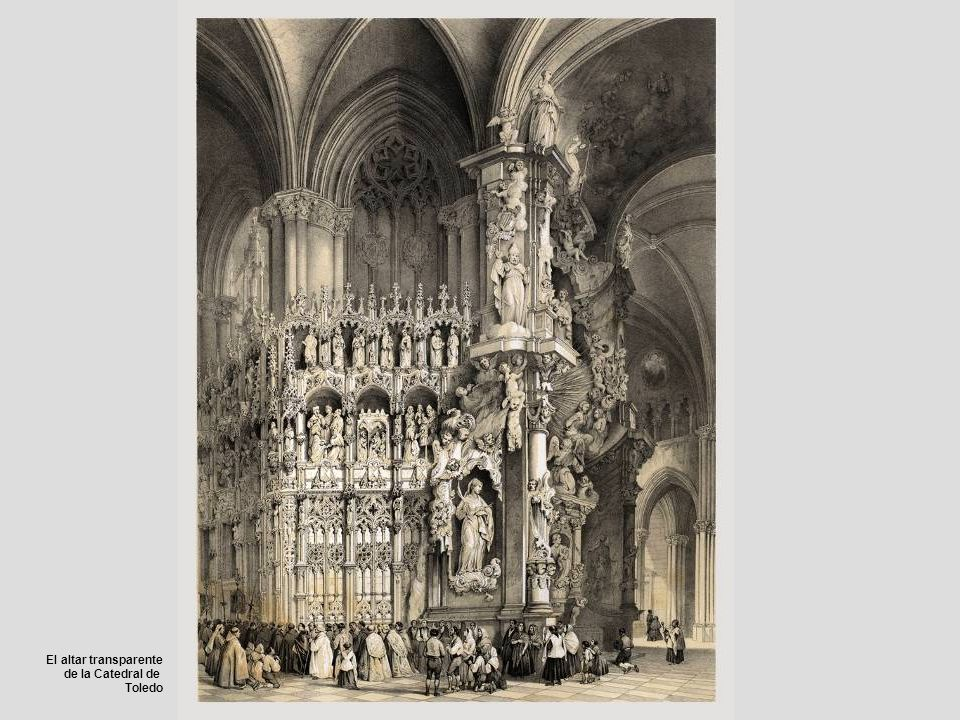 El altar transparente de la Catedral de Toledo