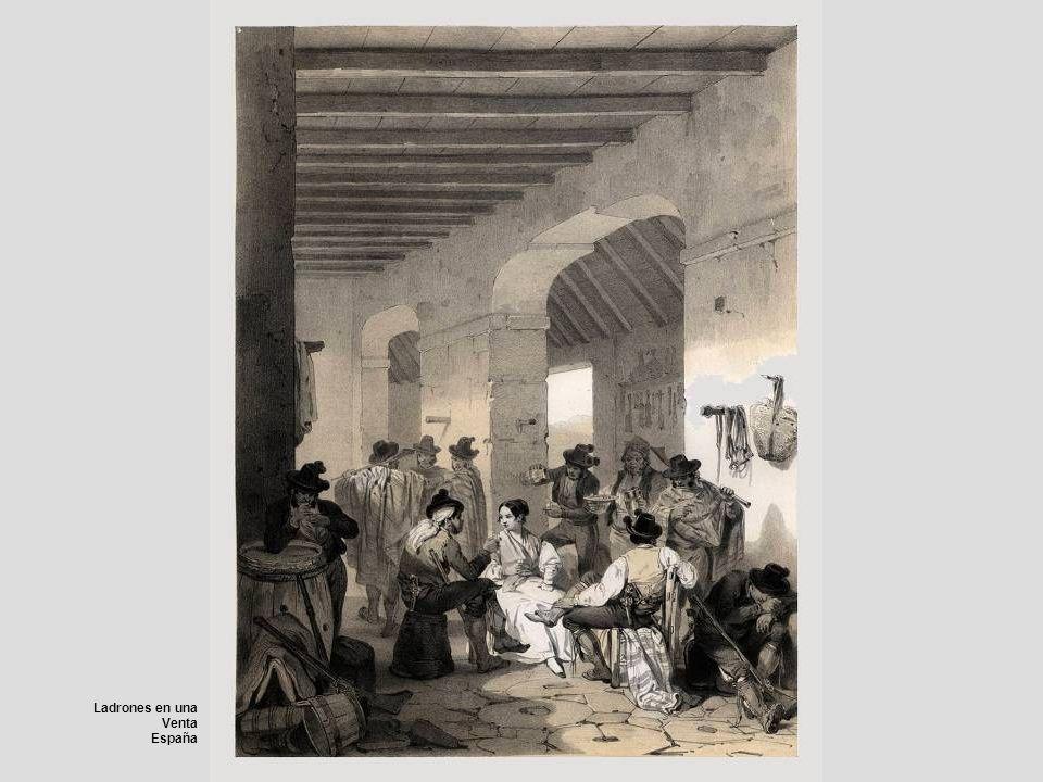 Ladrones en una Venta España