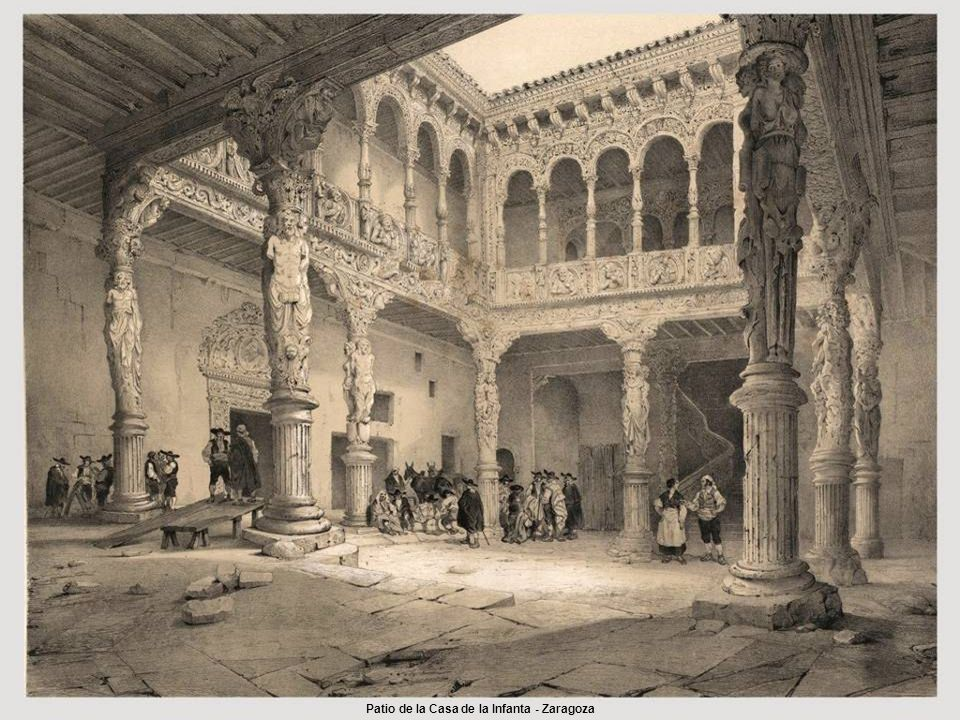 Patio de la Casa de la Infanta - Zaragoza