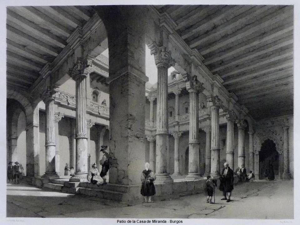 Patio de la Casa de Miranda - Burgos