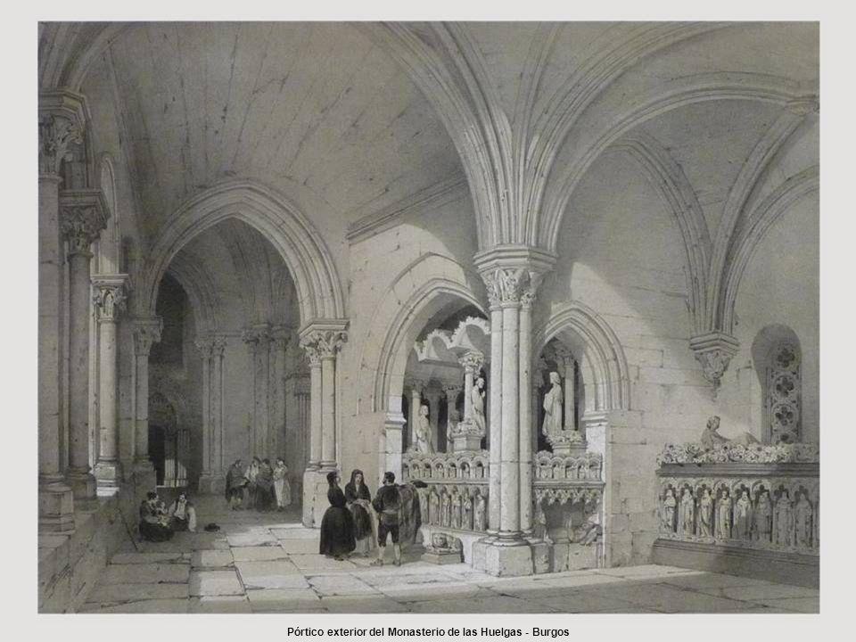 Pórtico exterior del Monasterio de las Huelgas - Burgos
