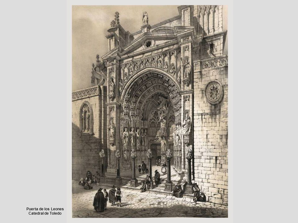 Puerta de los Leones Catedral de Toledo