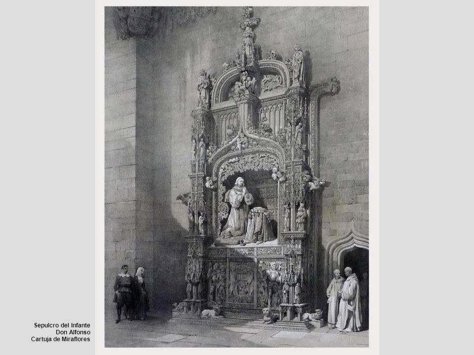Sepulcro del Infante Don Alfonso Cartuja de Miraflores
