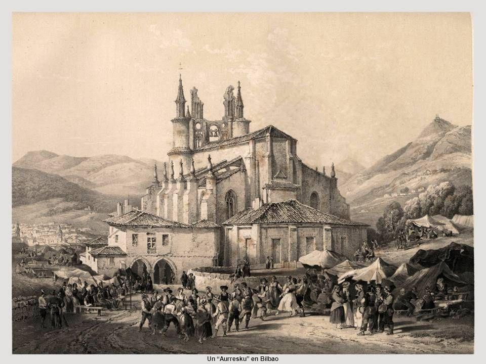 Un Aurresku en Bilbao
