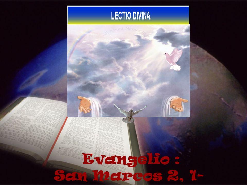 Evangelio : San Marcos 2, 1-12 1